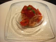 仙台のおいしいものをご紹介-フルーツトマトのカッペリーニ