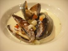 仙台のおいしいもの・宮城のおいしいものをご紹介-仙台プレジール貝のスープ